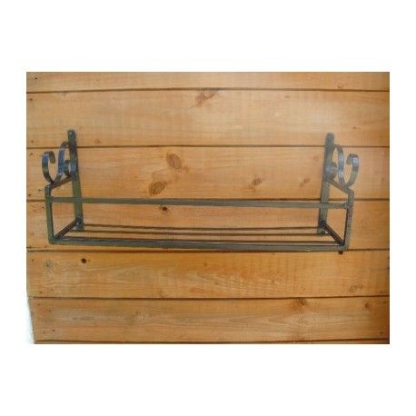 Window Box Wrought Iron Hand Crafted Garden Trough Holder Plant