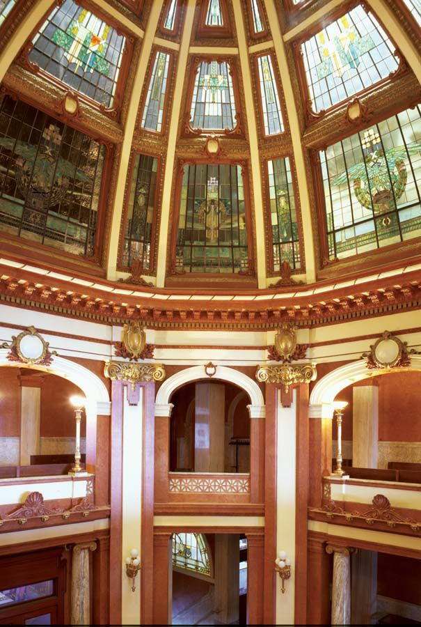 Sensational Inside Dekalb Countys Magnificent Courthouse In Auburn Download Free Architecture Designs Scobabritishbridgeorg