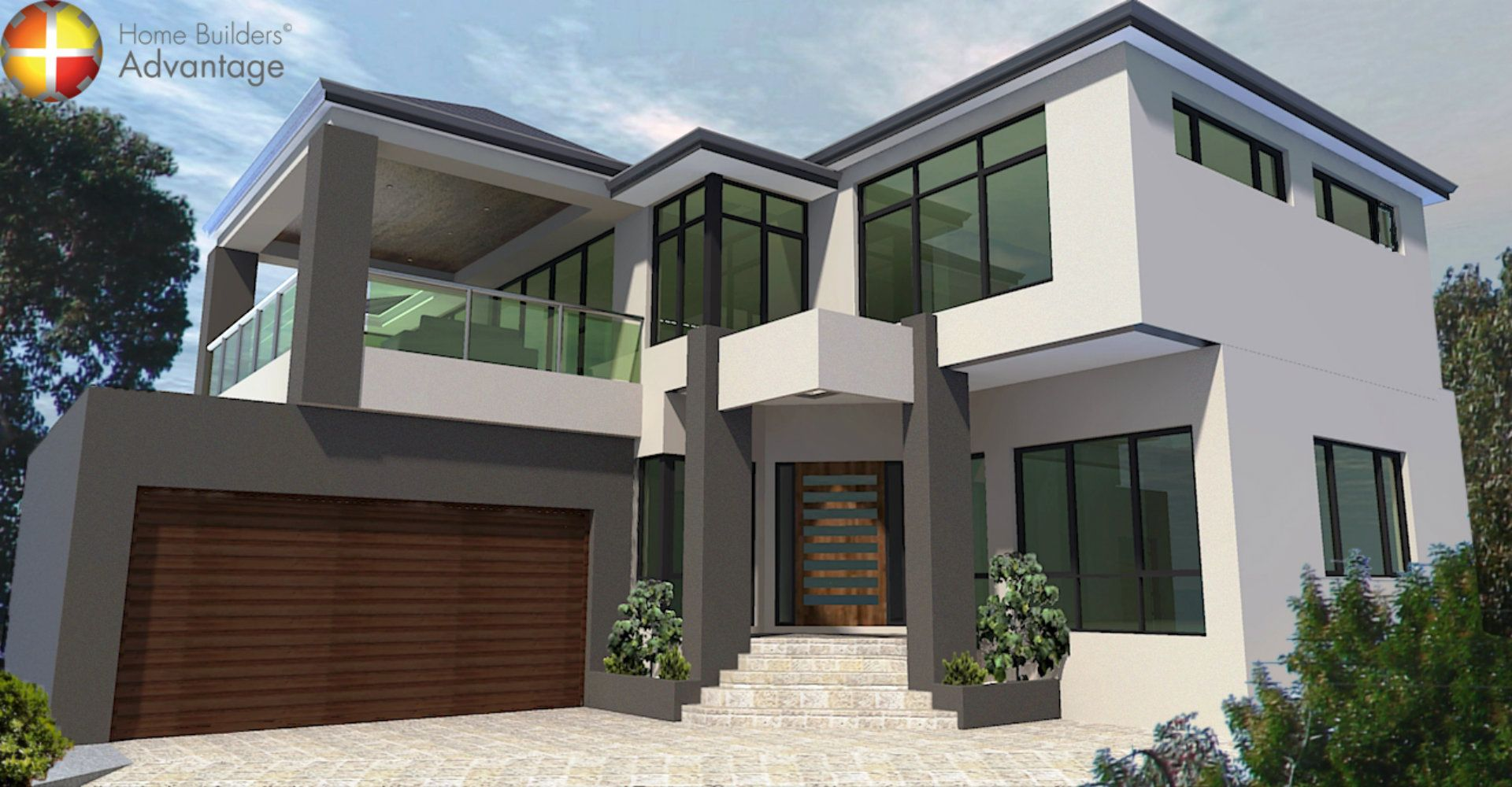 Build Your Own House Create Minimalist Pattern Y Homes Front