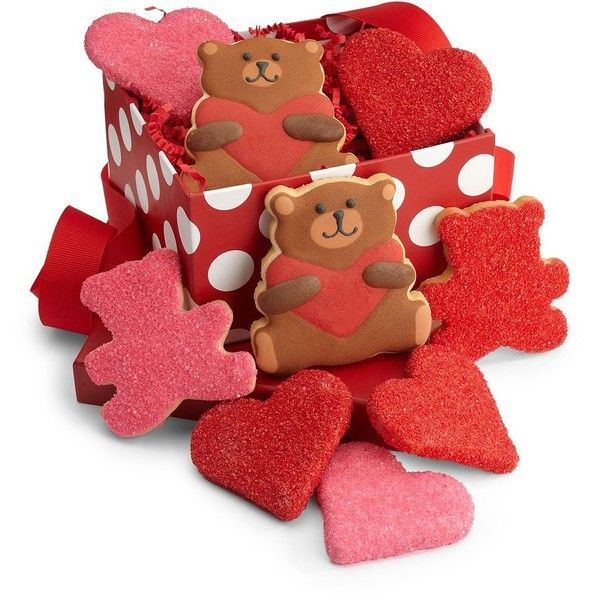 amy's cookies valentine's day cookie assortment (765 mxn) ❤ liked, Ideas