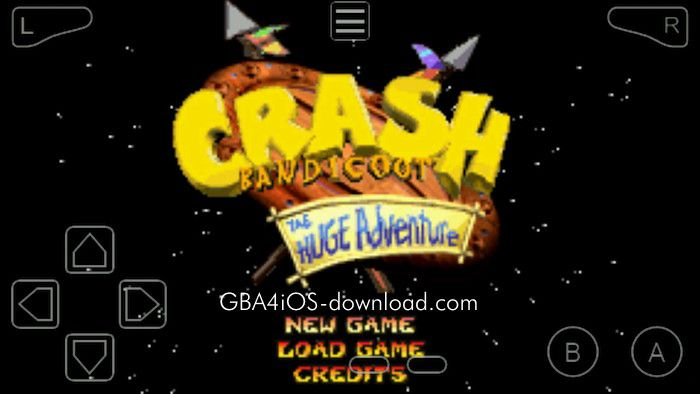 crash bandicoot the huge adventure gba gameshark codes