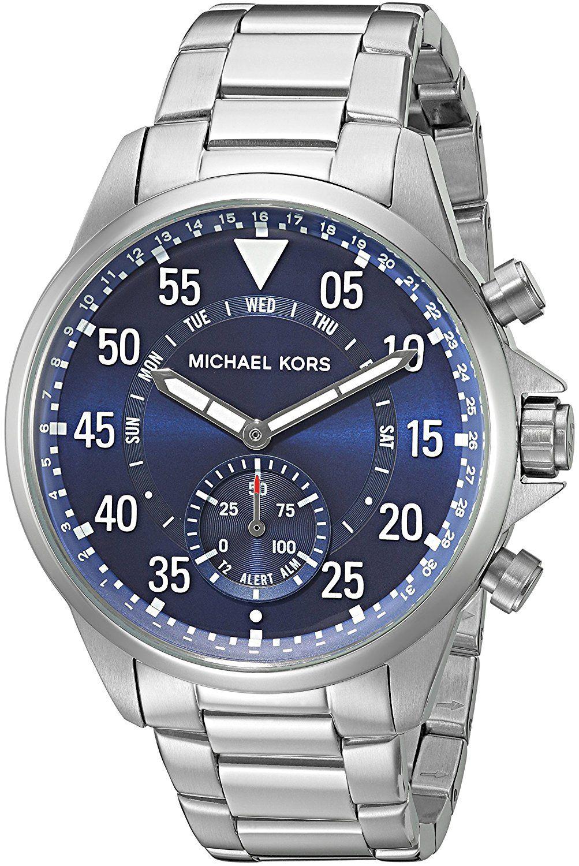 57737268b3f2 Michael Kors Access Hybrid Stainless Steel Gage Smartwatch MKT4000 Michael  Kors Access Gage Silver-tone