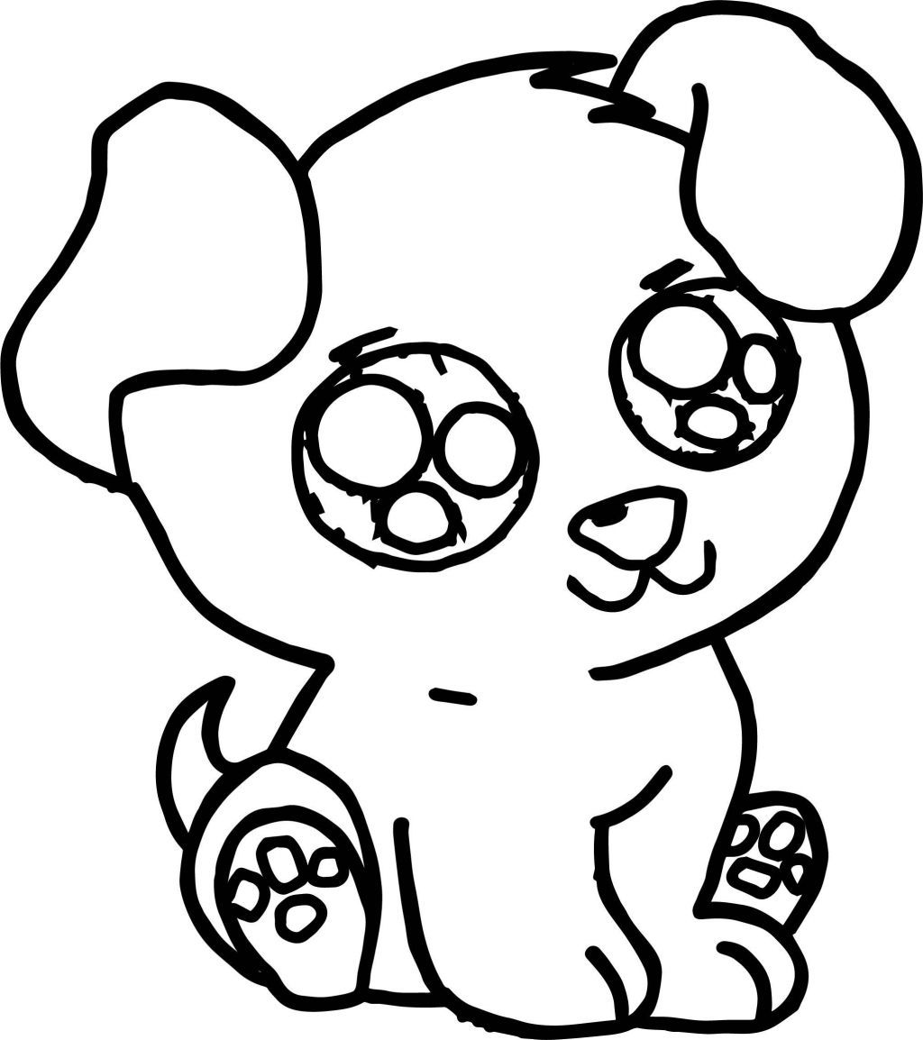 Dog Coloring Pages Easy on a budget