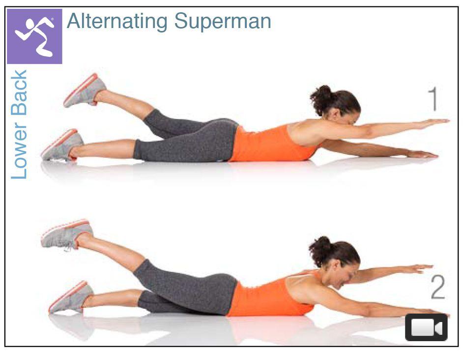 Superman Pilates