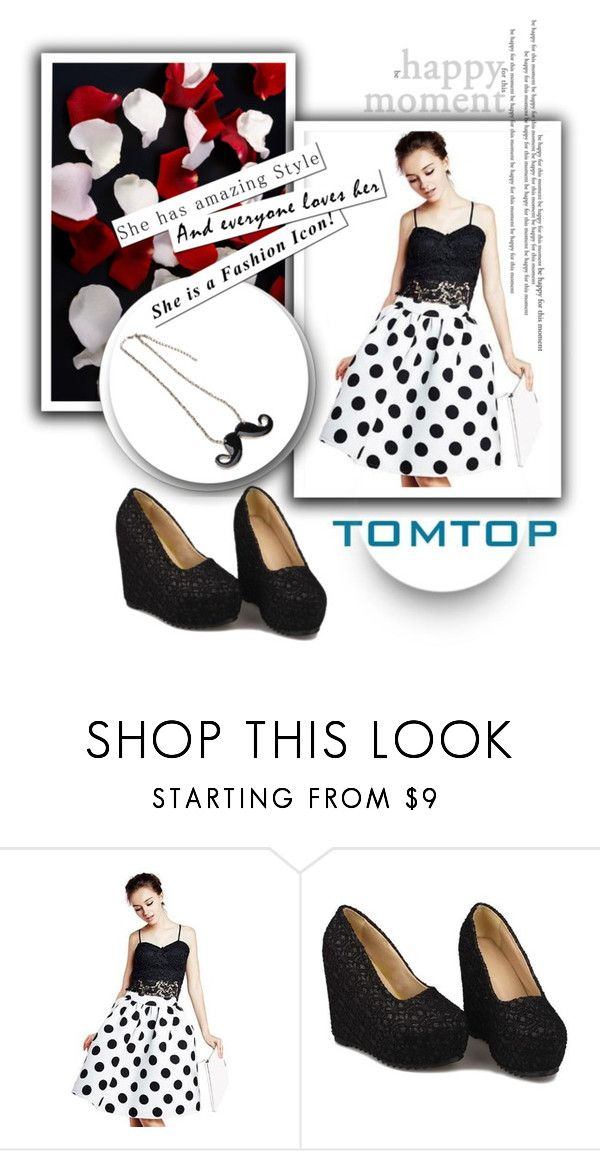 """""""TOMTOP 26/30"""" by melisa-hasic ❤ liked on Polyvore featuring tomtop"""
