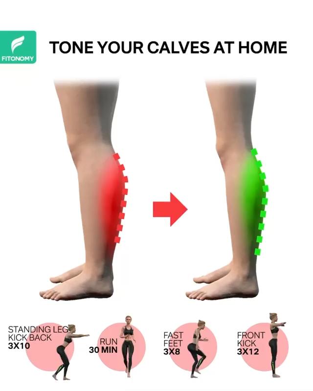 Calves workouts at home.