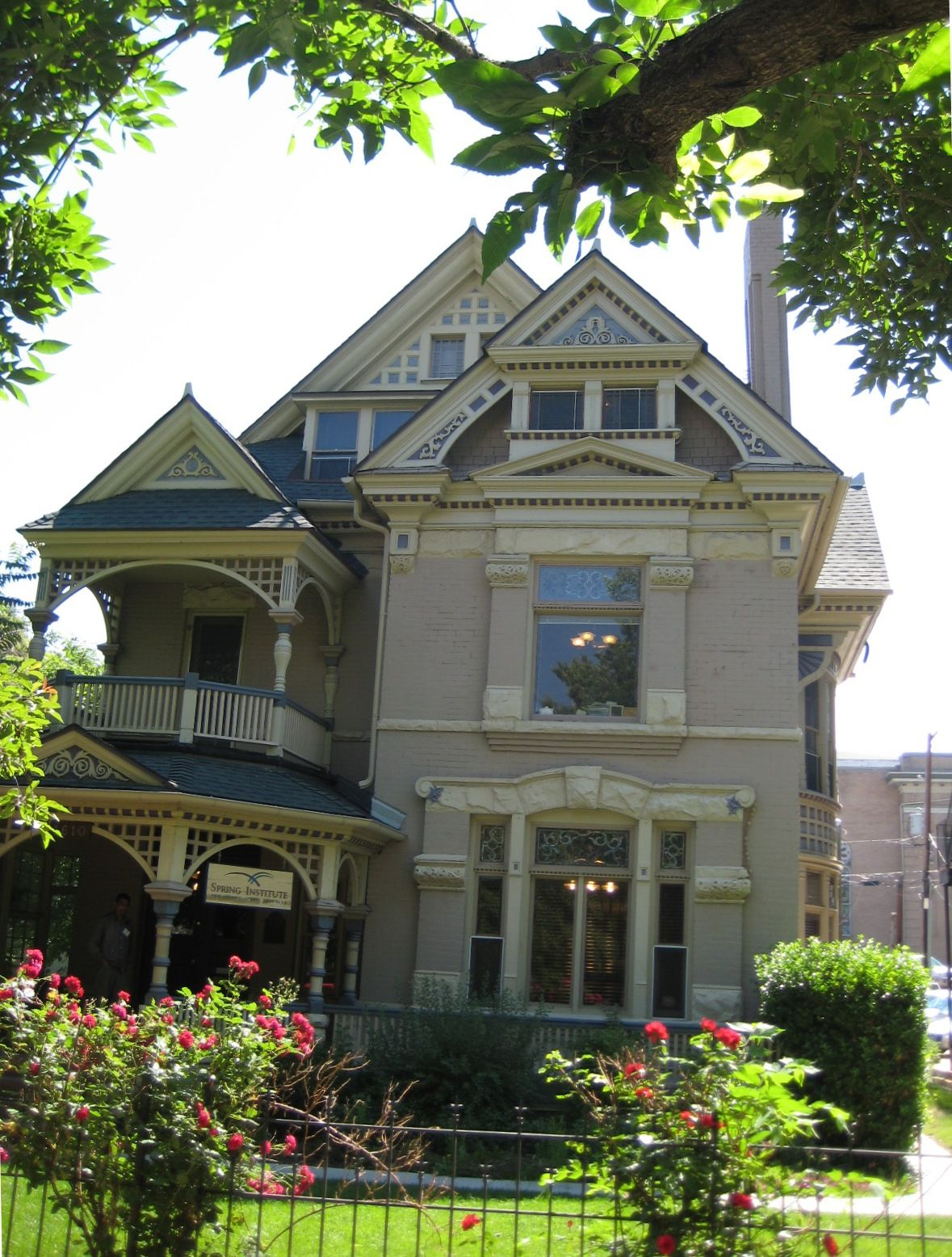 Many Denver Houses Built During The 1880s And Early 1890s Are Queen Anne Defining Characteristics