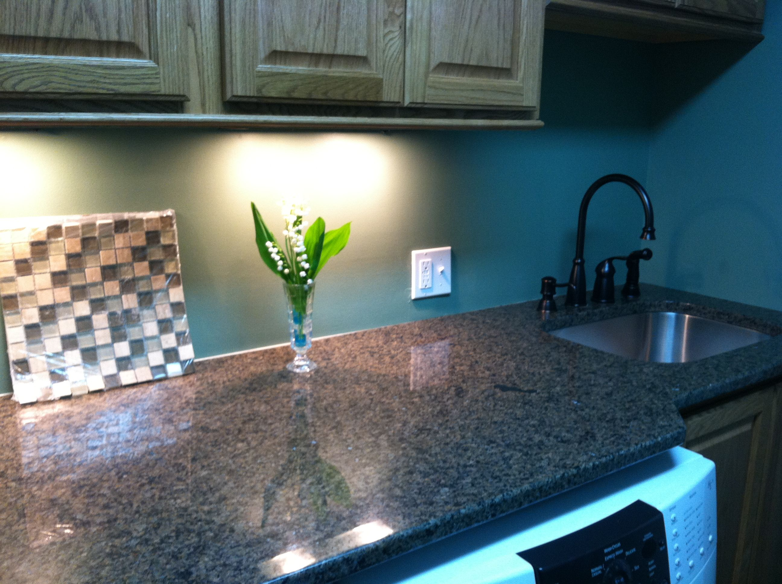 Granite and sink installed laundry room pinterest laundry