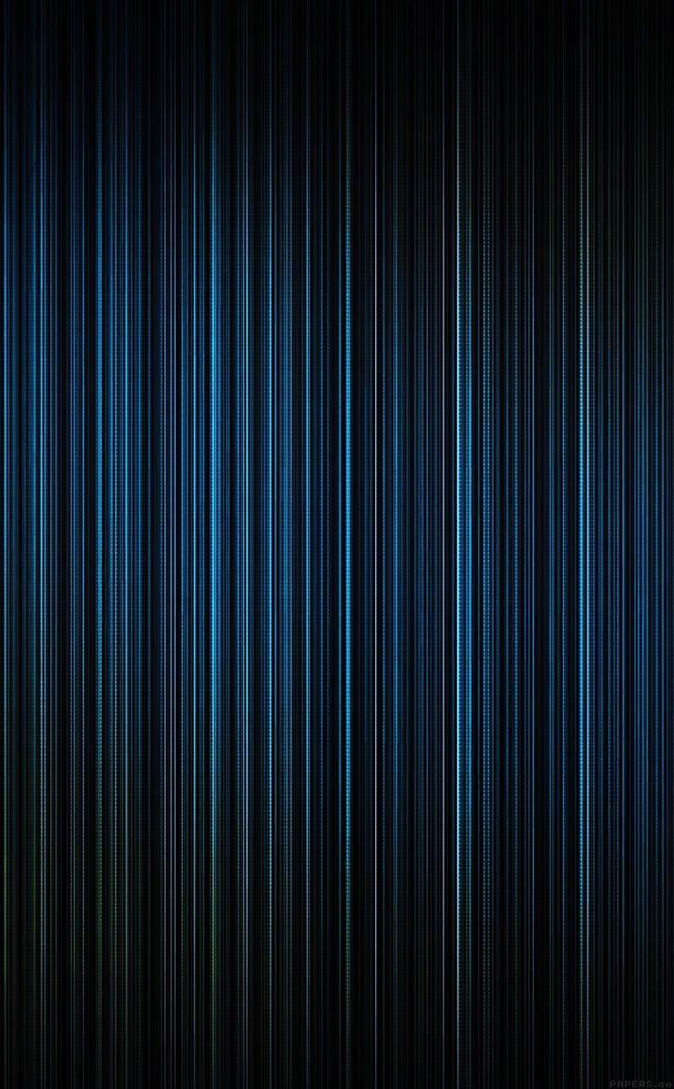 TAP AND GET THE FREE APP! Abstract Blue Pinstripes Black