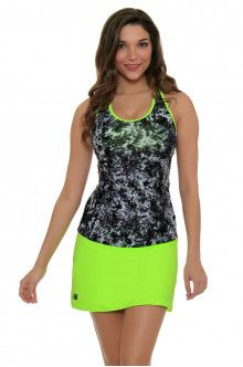 Tennis Wear l New Balance Lime Glo Tennis Skirt : WK71427