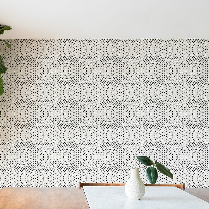 Tile Matte Smooth Peel And Stick Wallpaper Roll Reviews Allmodern In 2021 Peel And Stick Wallpaper Wallpaper Roll Wallpaper Panels