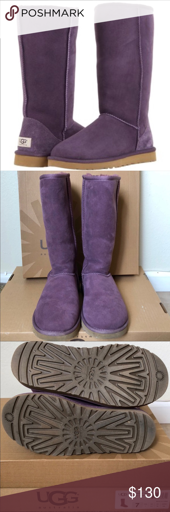 ugg boots Classic tall lila