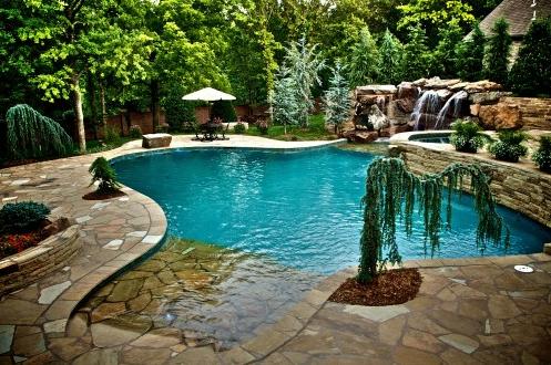 Dise o piscinas rusticas casas peque as buscar con for Diseno de piscinas para casas de campo
