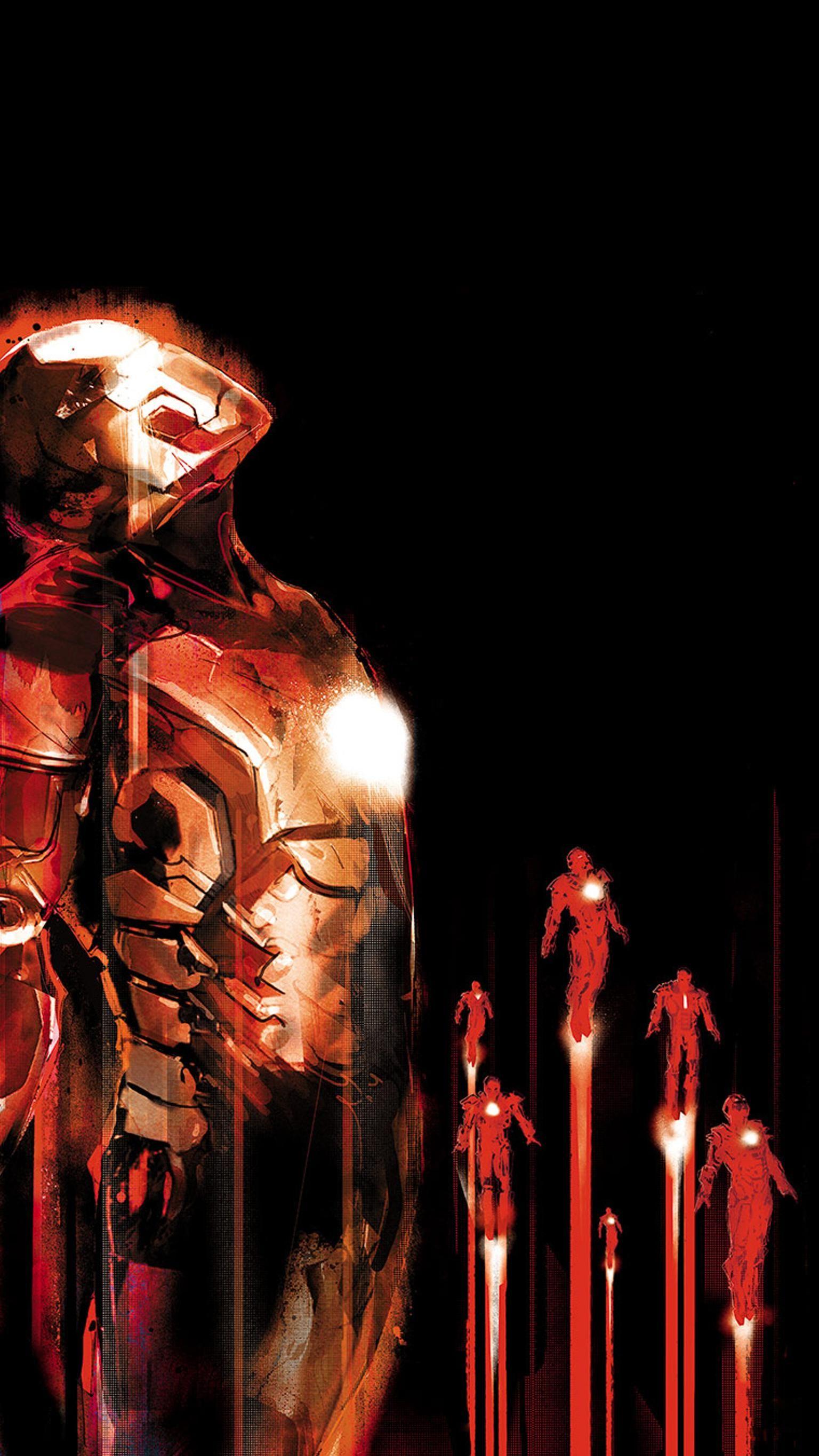 Iron Man 3 (2013) Phone Wallpaper Marvel, Iron man