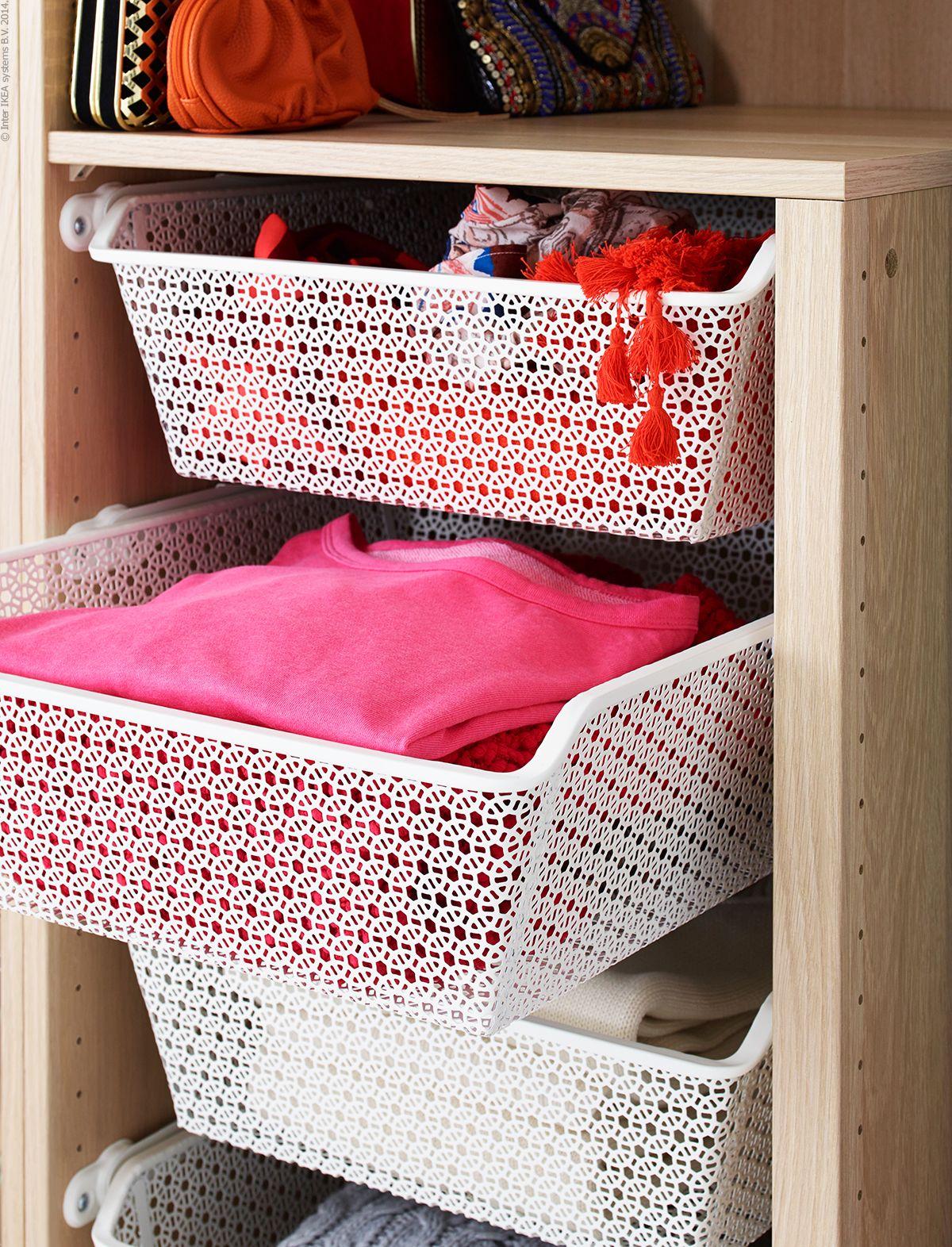 Komplement Trådbackar I Metall Ikea Förvaring Och Garderob