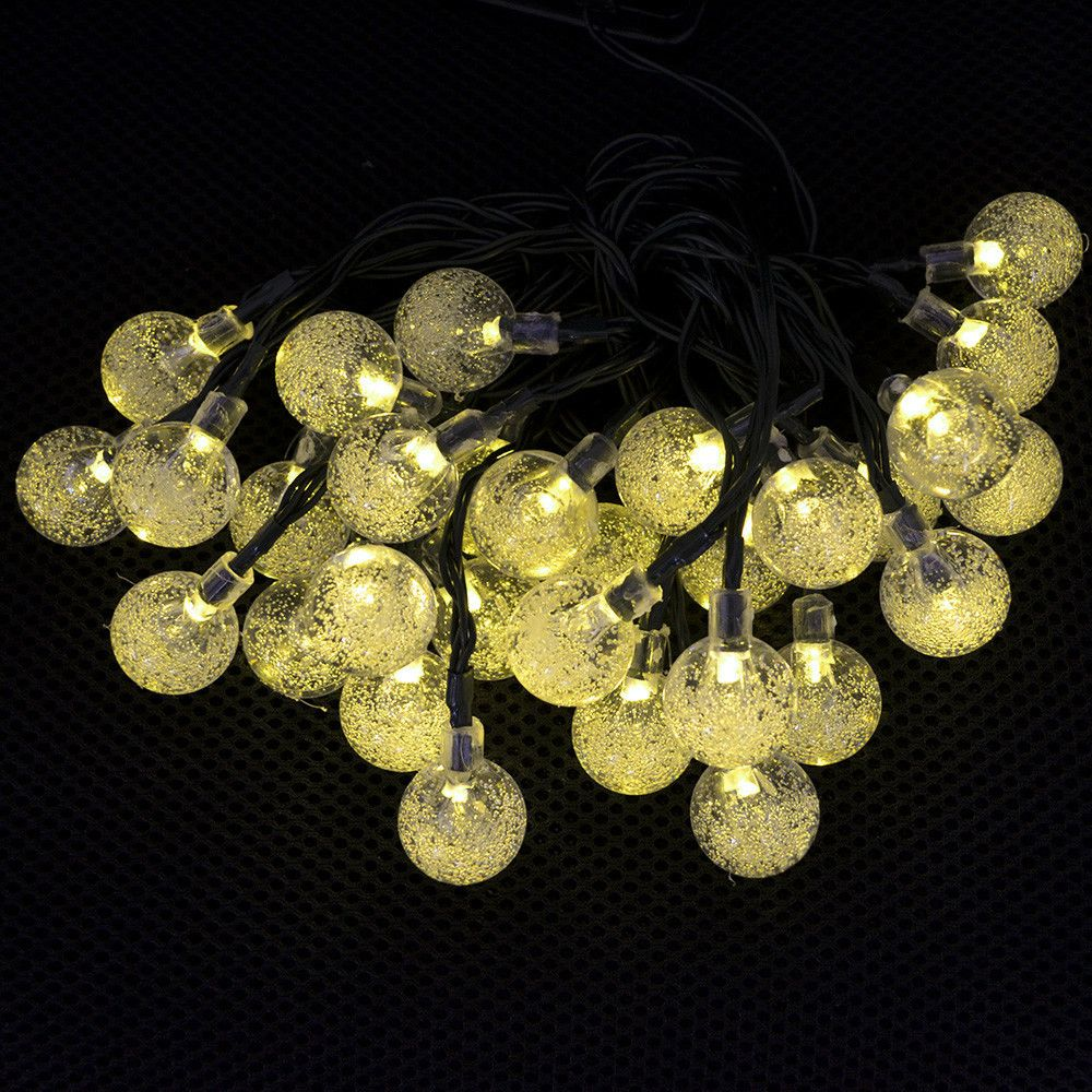 Cheap Light Bluetooth, Buy Quality Light Common Directly From China Light  Up Pool Balls Suppliers: Solar Outdoor String Lights 20ft 30 LED Colorful  Crystal ...