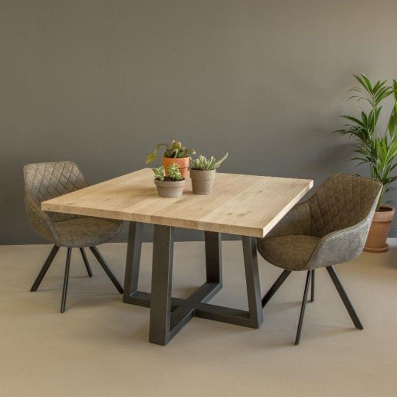 Vierkante Eettafel 150x150 Cm.Vierkante Eettafel Carno In 2019 Eetkamer Living99