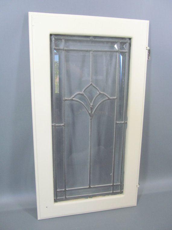 Unique Leaded Glass Cabinet Doors Interior