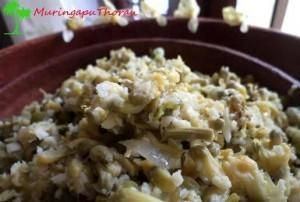 Muringapu Thoran Drumstick Flower Stir Fry Recipe