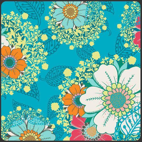 Art Gallery Fabric by Patricia Bravo-Rhapsodia Collection-Mystic Aura Sky - Dream Voyage