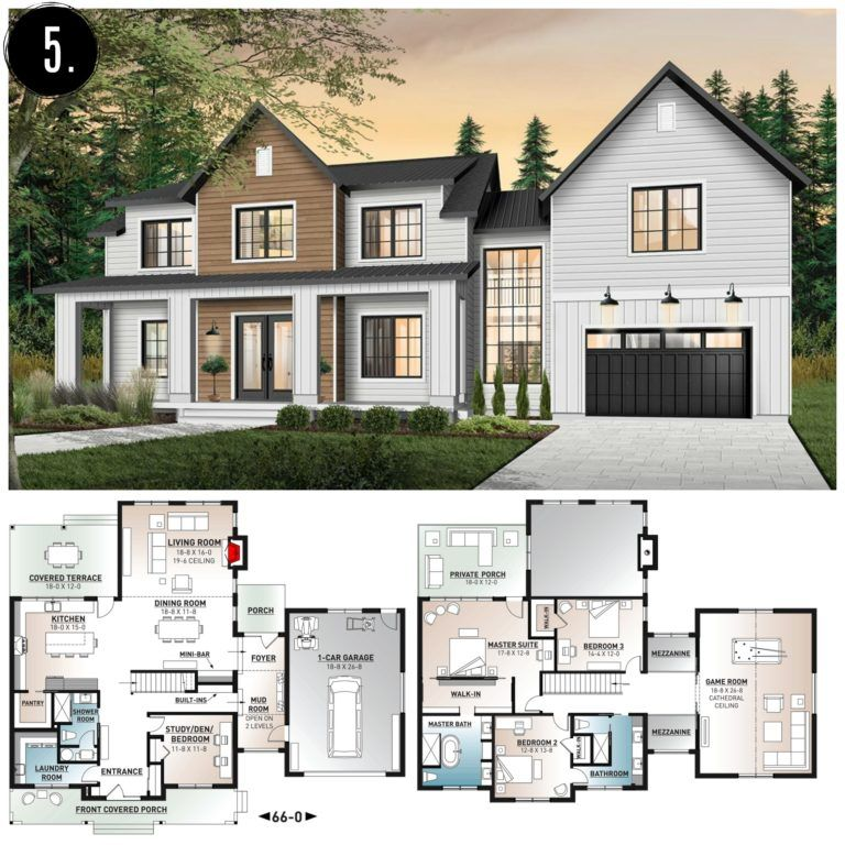 10+ Amazing Modern Farmhouse Floor Plans - Rooms For Rent blog