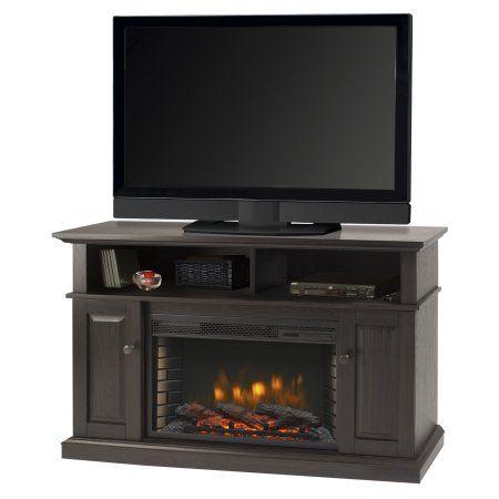 Muskoka 370 167 200 Kit Delaney 48 Inch Media Fireplace Rustic