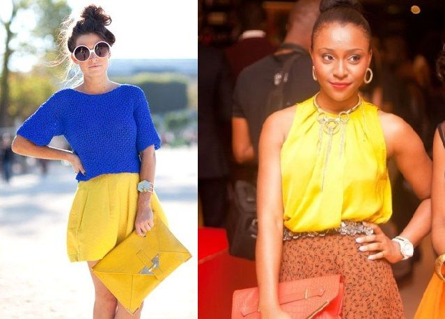 Yellow is one instant glam fashion color, that can add cheer and summer vitality to any ensemble. I love Yellow!