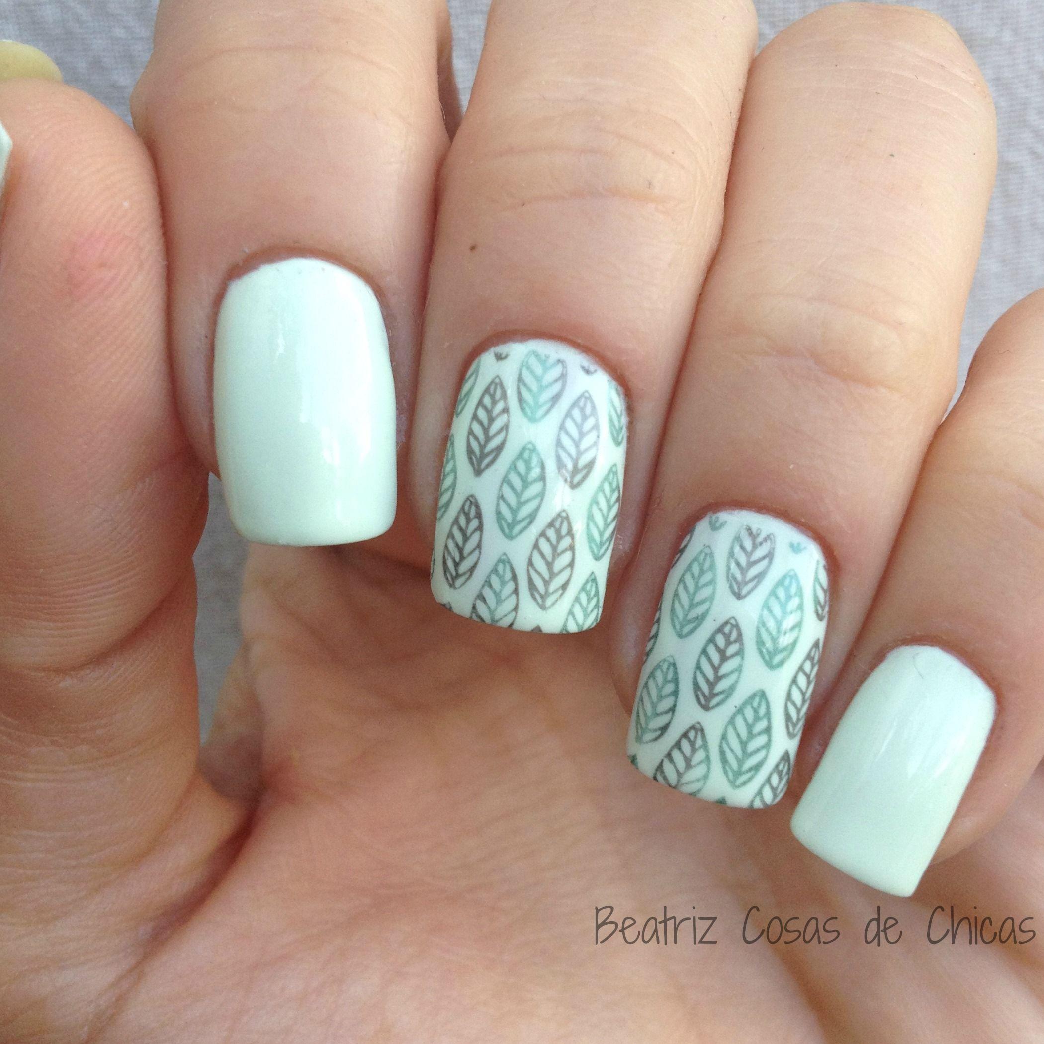 Verde Menta Kiss de Essence y Curali.2 | Nails | Pinterest | Verde ...