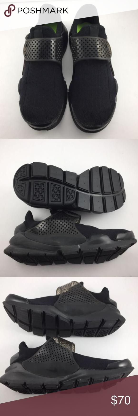 huge discount 225bb 2ac90 Nike Sock Dart MENS Sz 7 819686-001 ITEM  NIKE SOCK DARTS TRIPLE BLACK