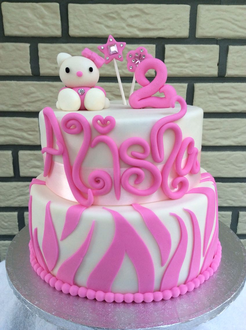 Hello Kitty Cake Taart