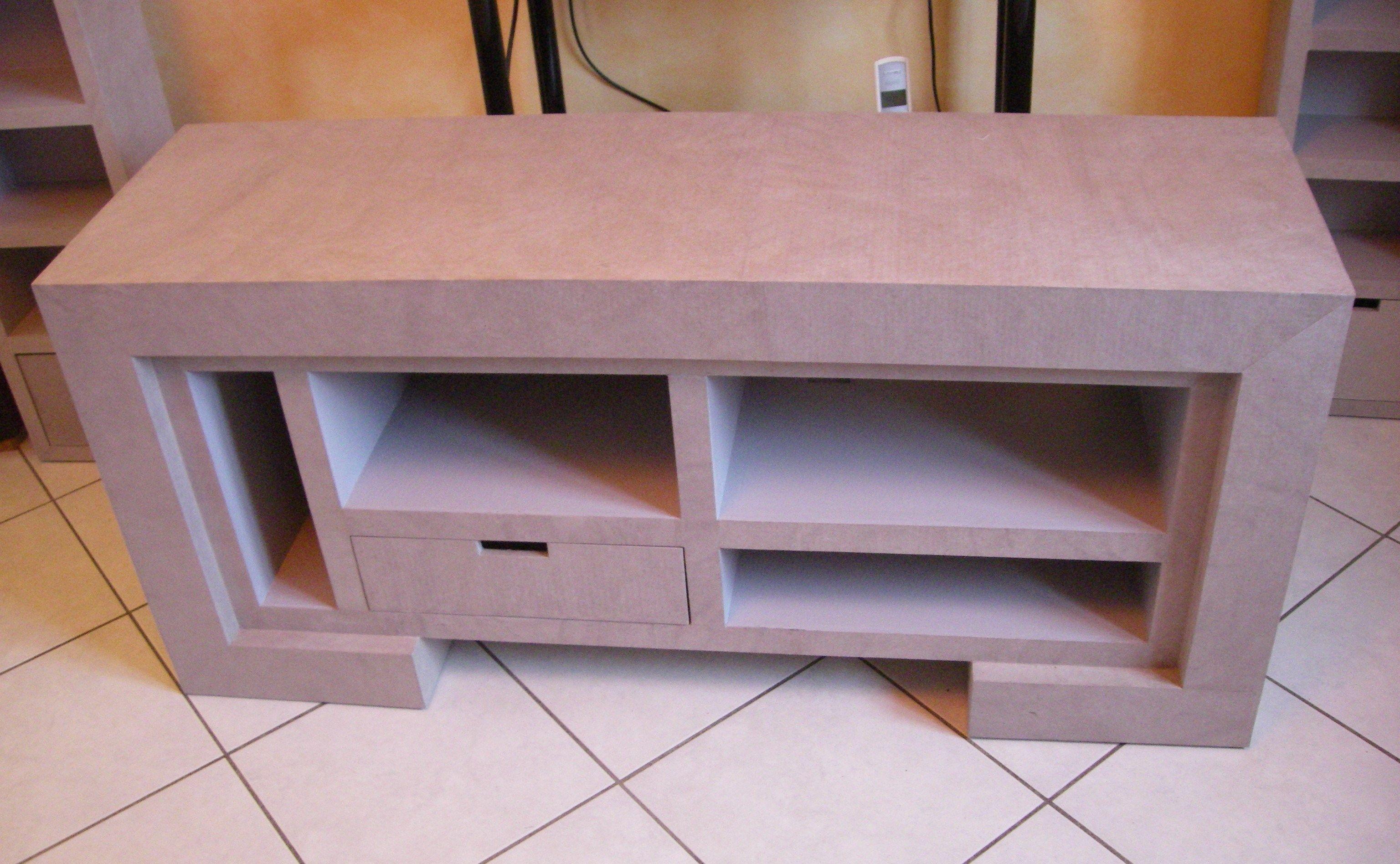 meuble tv en carton meubles multim dia en carton. Black Bedroom Furniture Sets. Home Design Ideas