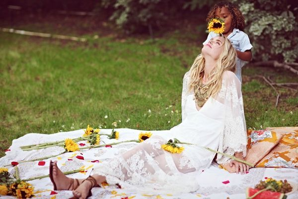 The Free People 'Mother's Love' Photoshoot Stars Shelby Keeton #bohemian #fashion trendhunter.com