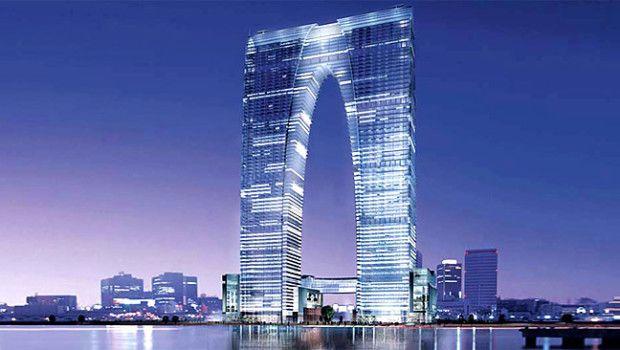 The Pants-Shaped Skyscraper