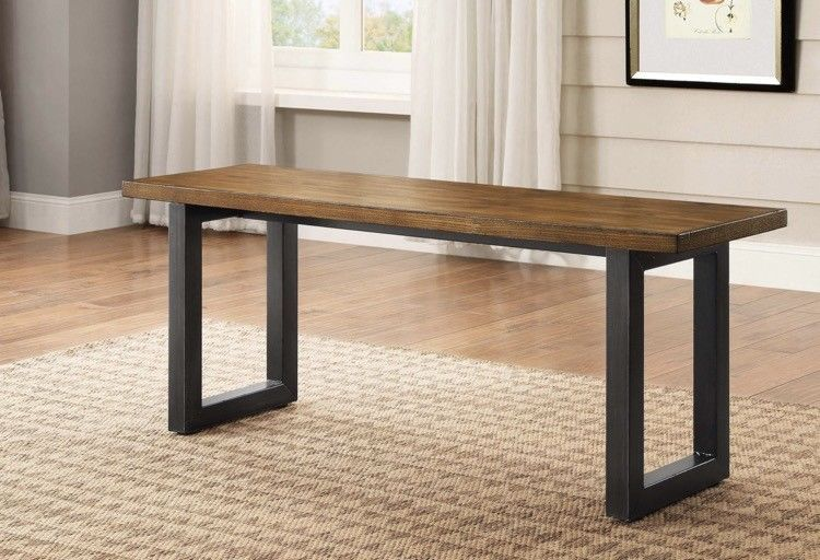 Dining Bench Seat Indoor Kitchen Table For Seating Multi Use