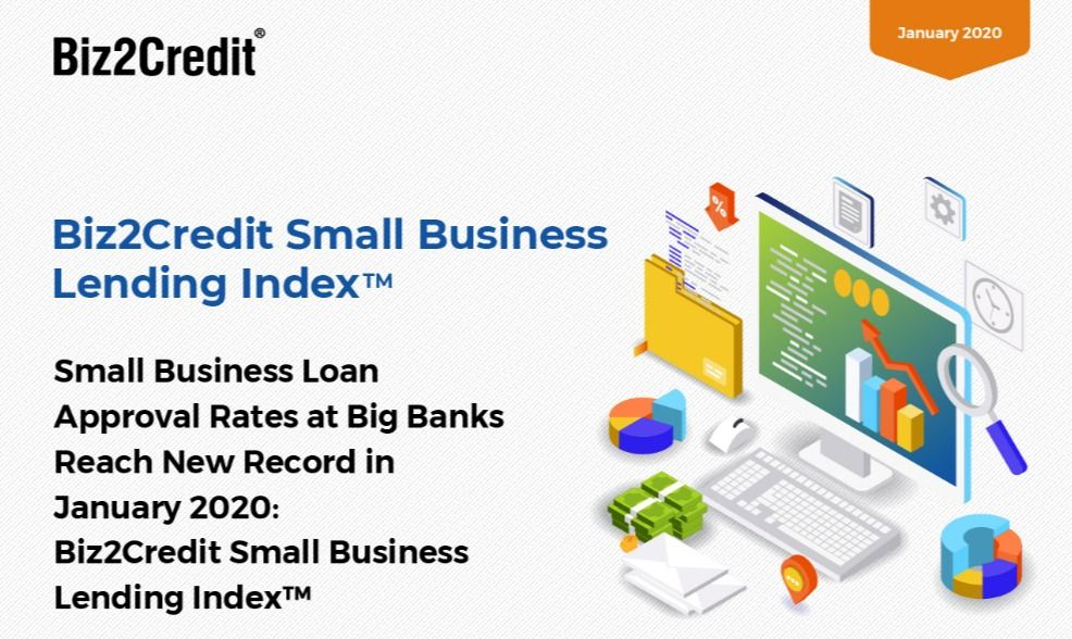 Nfographic Small Business Lending Index January 2020 In 2020 Small Business Lending Small Business Loans Infographic