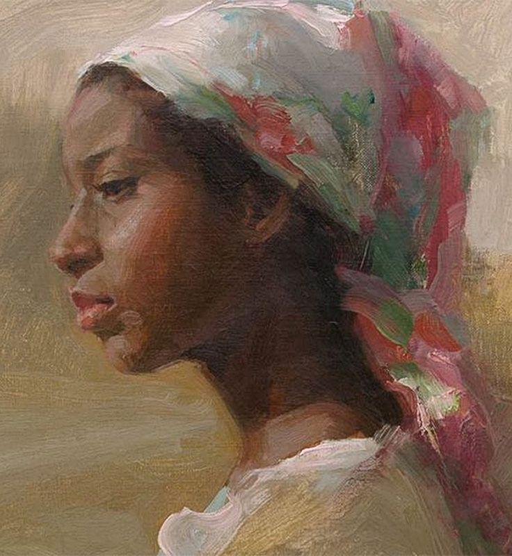 Drawings african facial profiles