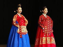 Hanbok is the traditional dress of people in Korea.