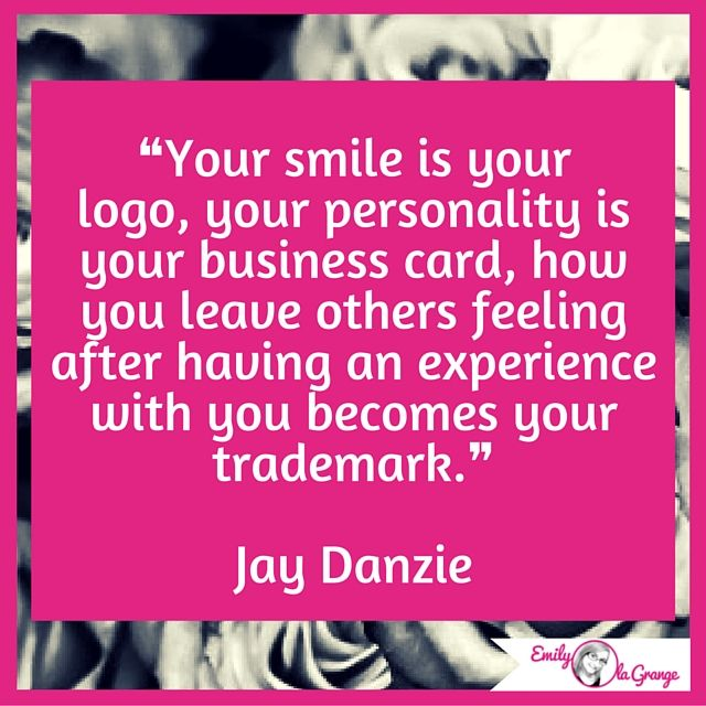 Bon Healing Quotes · ❝Your Smile Is Your Logo, Your Personality Is Your  Business Card, How You