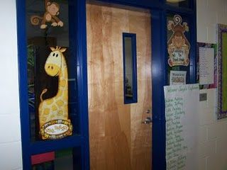 Entrance to my classroom