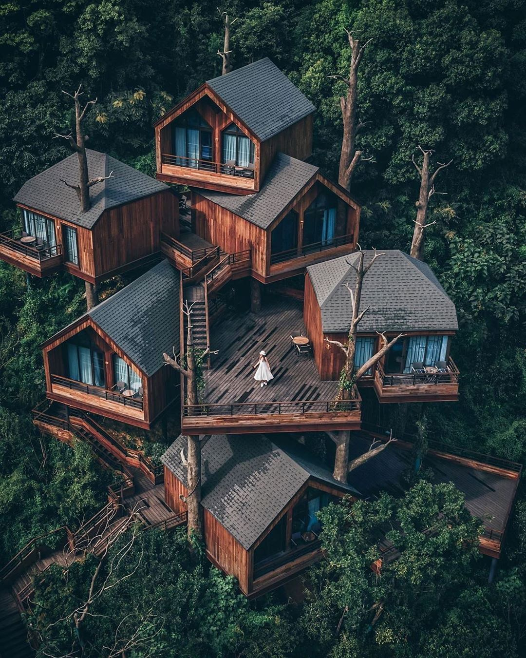 Earth Focus On Instagram Cabin Dreams In China Photo By Youknowcyc Explore Share Inspire Earthfocus Architecture House Architecture Tree House Designs
