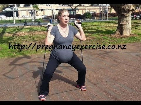 6ced8508af455 Pregnancy Exercise  Safe Exercise to do from 30 weeks