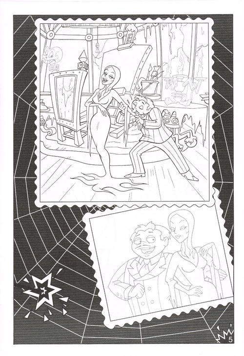 Golden The Addams Family Sticker Fun Family Coloring Pages Coloring Pages Coloring Books