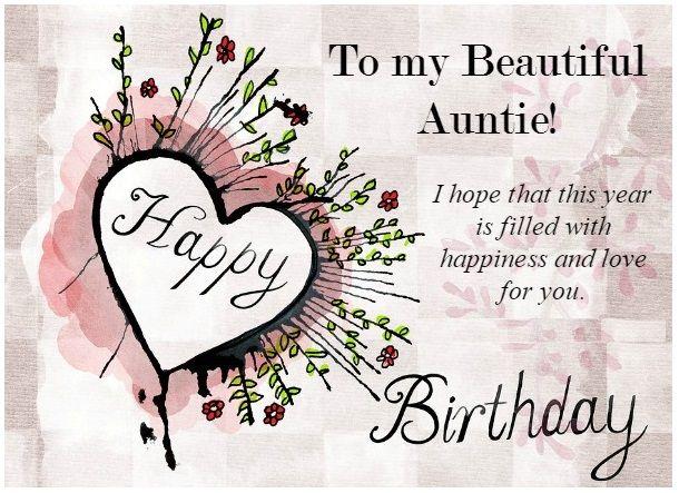Happy Birthday My Beautiful Aunt Happy Birthday Images Happy