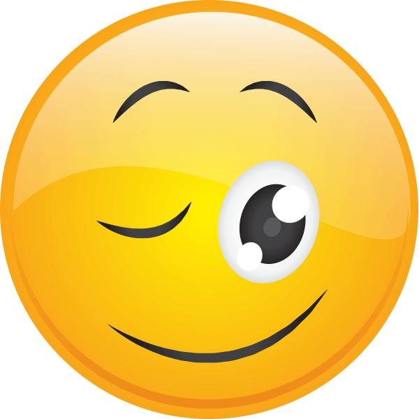 Big-Eyed Wink | Funny faces, Smiley emoji, Smiley