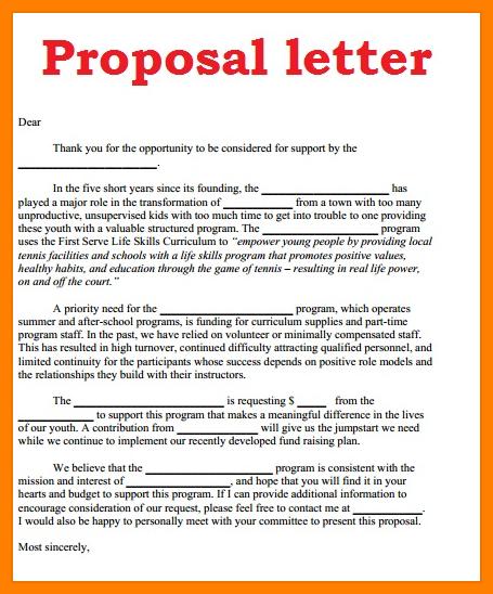 Image result for business proposal sample Proposal