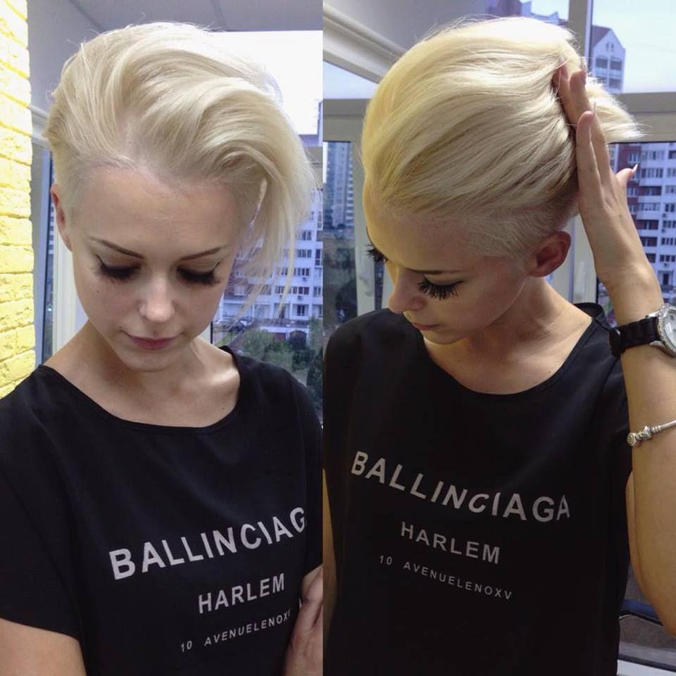 Zit jij er aan te denken om jouw korte kapsel blond te verven? Check dan deze 10 korte kapsels eens! - Pagina 2 van 10 - Kapsels voor haar