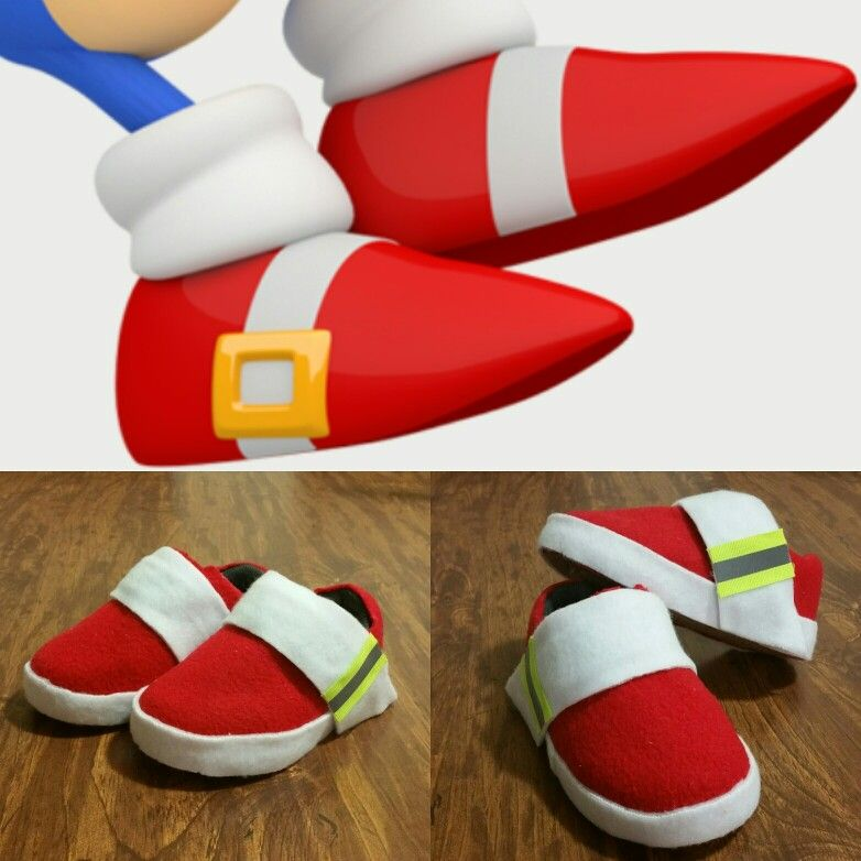 Sonic The Hedgehog Shoes Sonic Birthday Sonic Birthday Parties Sonic Costume