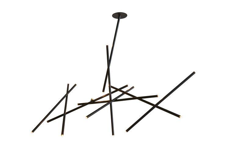 Pick up chandelier 10 stick by billy cotton light it up pick up chandelier 10 stick by billy cotton contemporary metal ceiling by ferrer aloadofball Gallery