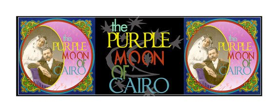 The purple moon of Cairo   Inches 276 x 11  cm. di PRINTGRAPHICS, €14.00