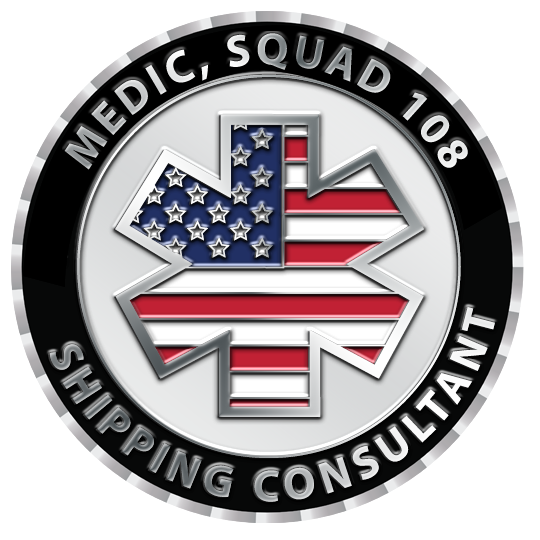 """Custom Challenge Coins made for """"Medic Squad """",Get your custom coins"""